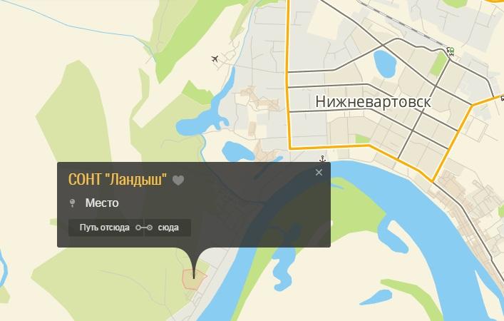 СОНТ Ландыш на карте